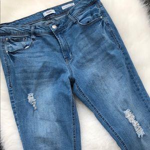 Kensie ankle jeans